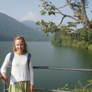April Batchelor in Nepal